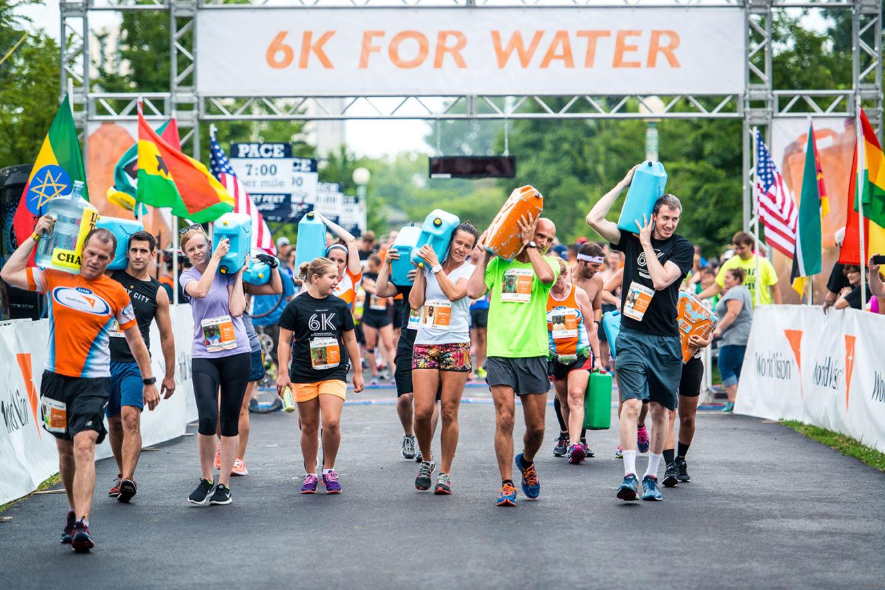 Magna Exteriors Walks, Runs for Water