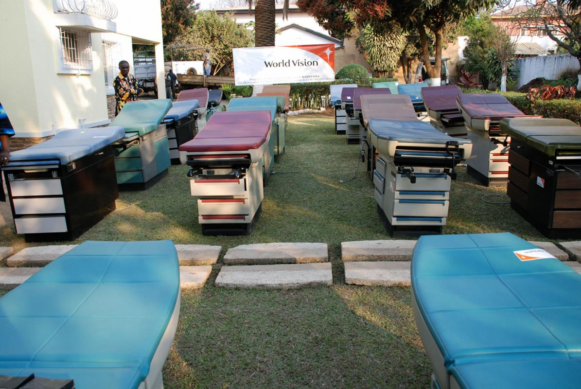 Midmark provides better exam tables to medical clinics.