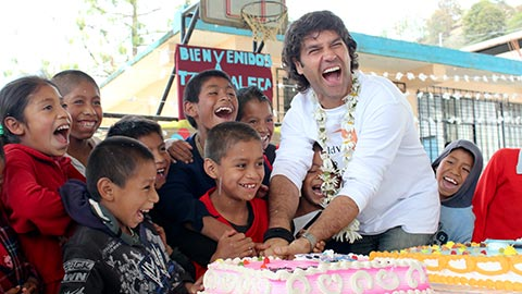 Help lift your sponsored child and then entire community out of poverty, step 2. Sponsored children celebrating birthdays.