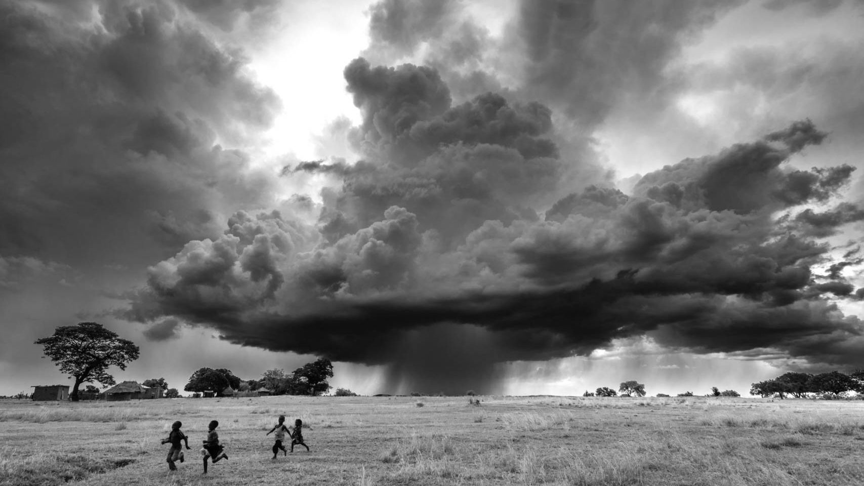 One of our favorite photos of 2016 is of a dramatic storm in Zambia.