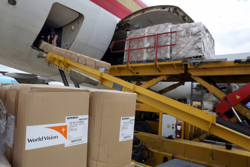 Ebola outbreak: Medical supplies shipment leaving JFK airport