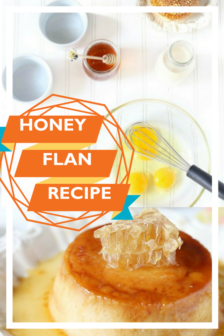 Honey flan recipe from Melissa Bailey - World Vision Dominican Republic blogger trip, honey farm visit, honey comb recipe, gluten free, soy free, nut free, grain free