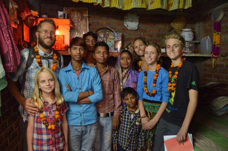 In 2014, the Owens family from California circled the globe to visit their sponsored children and teach their kids about other cultures.