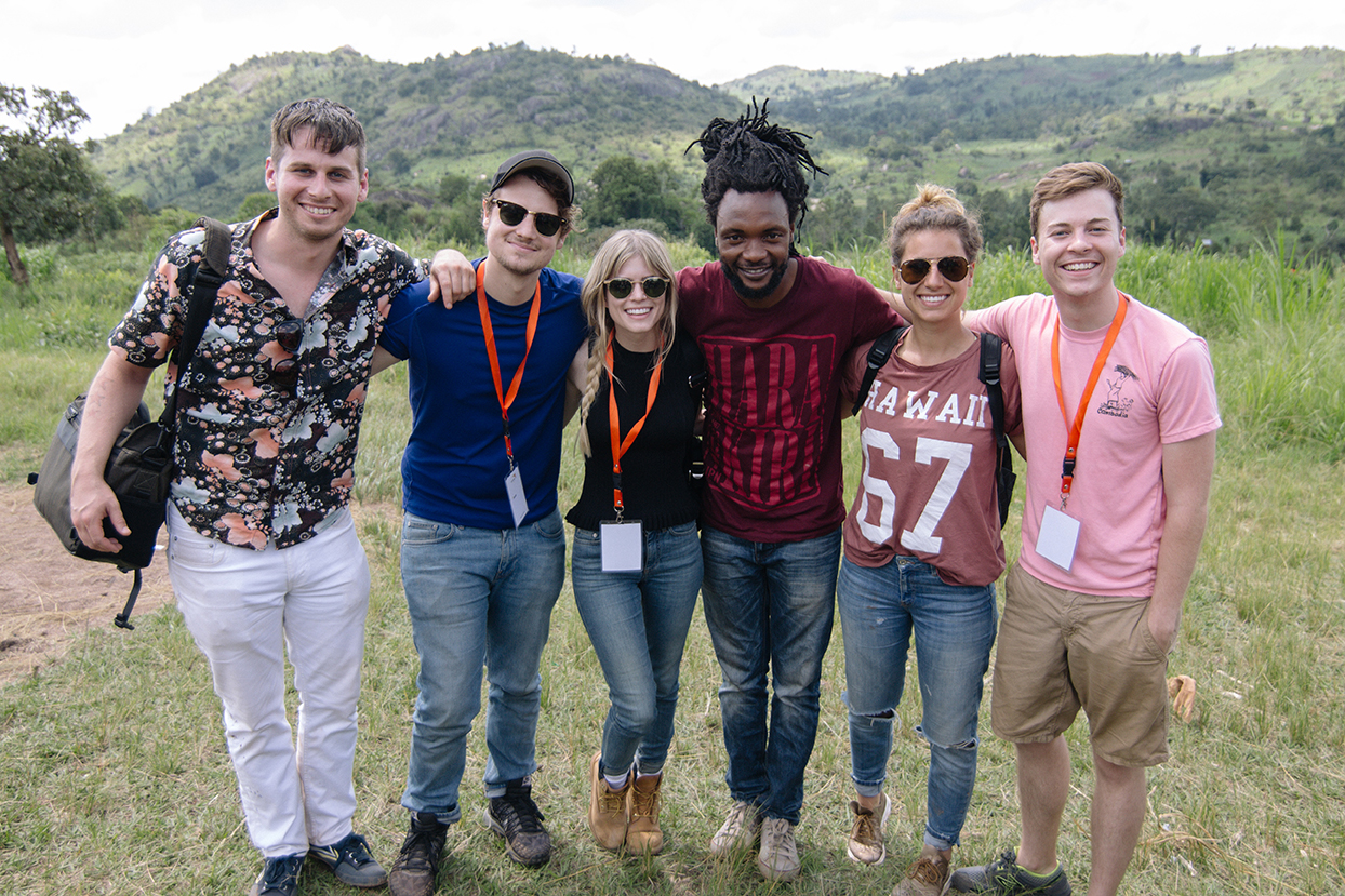 In this podcast, hear about a trip with members of Foster the People and MTV's 'Scream' to see the moment when water arrived in a Ugandan community.