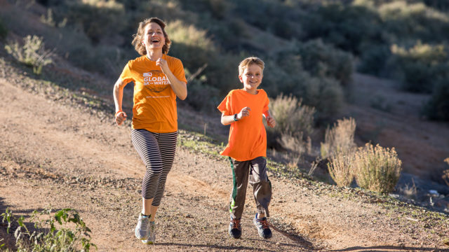 8-year-old Luke Flowers used his birthday to give back by running World Vision's Global 6K for Water with his friends.