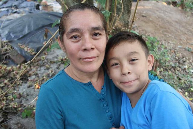 Mother's Day: Pedro in El Salvador would like to give his mom all his love for Mother's Day.