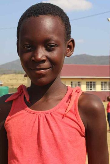 Sebenele in Sierra Leone wants to give her mom a cell phone so she can talk to her dad.