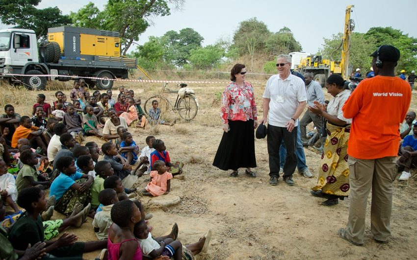 Tens of thousands of children are alive today because of the Dornsife's vision, perseverance, and commitment to solving the world's clean water deficit.