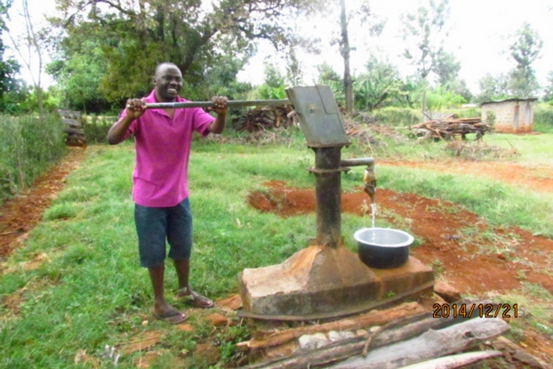 Growing up without clean water in rural Kenya, Sam Irungu knew the daily struggle of collecting dirty water from the early age of 5. Today, he works as a software engineer!
