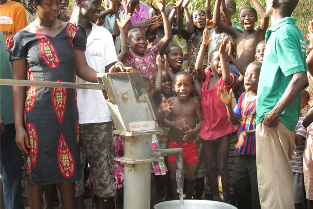 A UNC Water Institute study shows that World Vision water wells continue to flow for decades because World Vision teaches people how to repair broken wells!