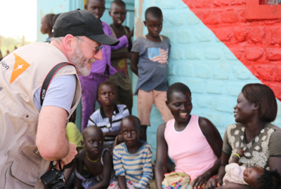 Liam Cunningham traveled to Uganda in May to see World Vision's work with the fastest-growing refugee crisis worldwide — South Sudan.