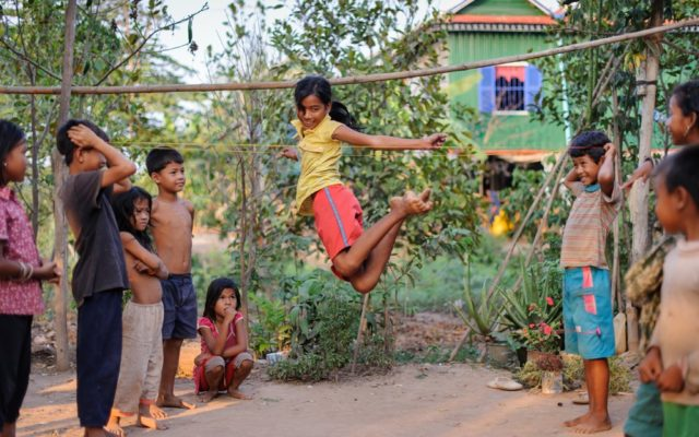World Vision builds strong communities through child sponsorship. View these photos of Cambodian children we help keep healthy, educated, and safe.