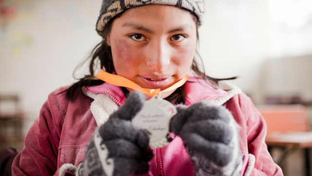 Girl Rising features Senna, who lives in a mountain community in Peru. While pursuing her education, she discovered her passion and talent for poetry.