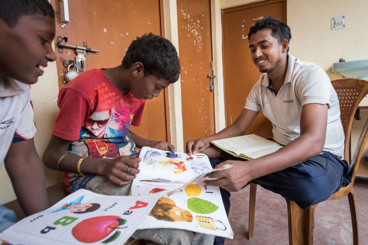 A former sponsored child in India now helps other children reach for their potential.