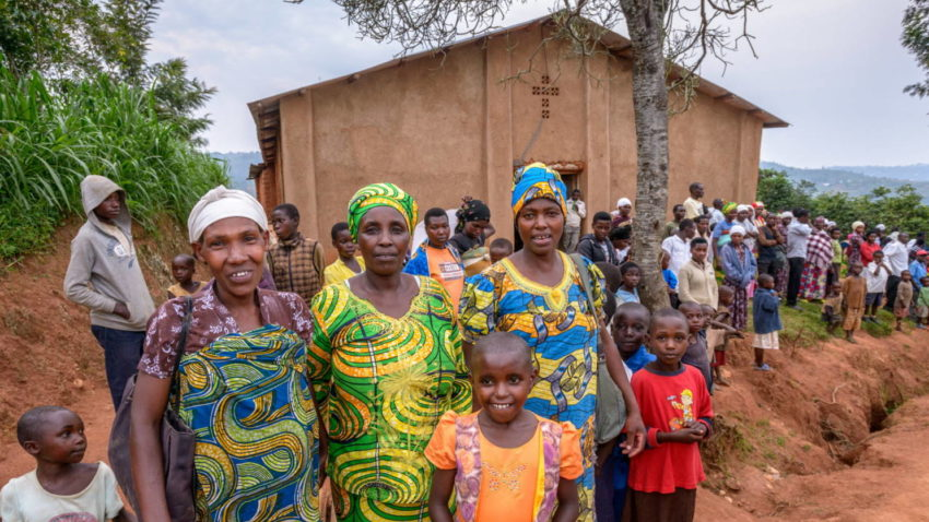 Christian charities help with reconciliation and peacebuilding after genocide