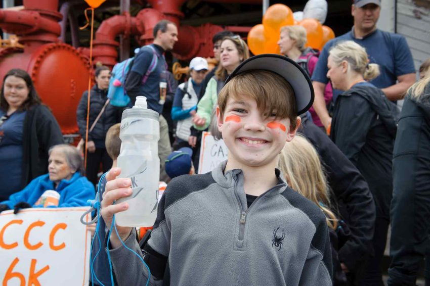Gabe, from Cascade Covenant Church in North Bend, Wash., ran the World Vision Global 6K for Water in May. (©2017 World Vision/photo by Andrea Peer)