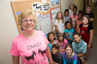 A pastor's challenge inspires a Sunday school teacher and her students to give the gift of goats.