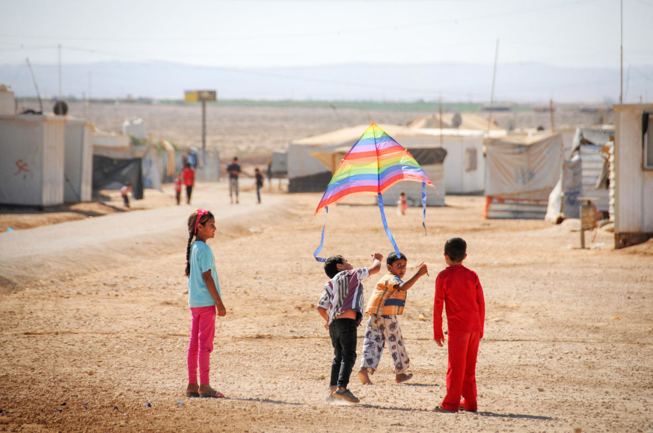 Amid conflict in Syria and neighboring countries, a sense of childhood is slipping away.