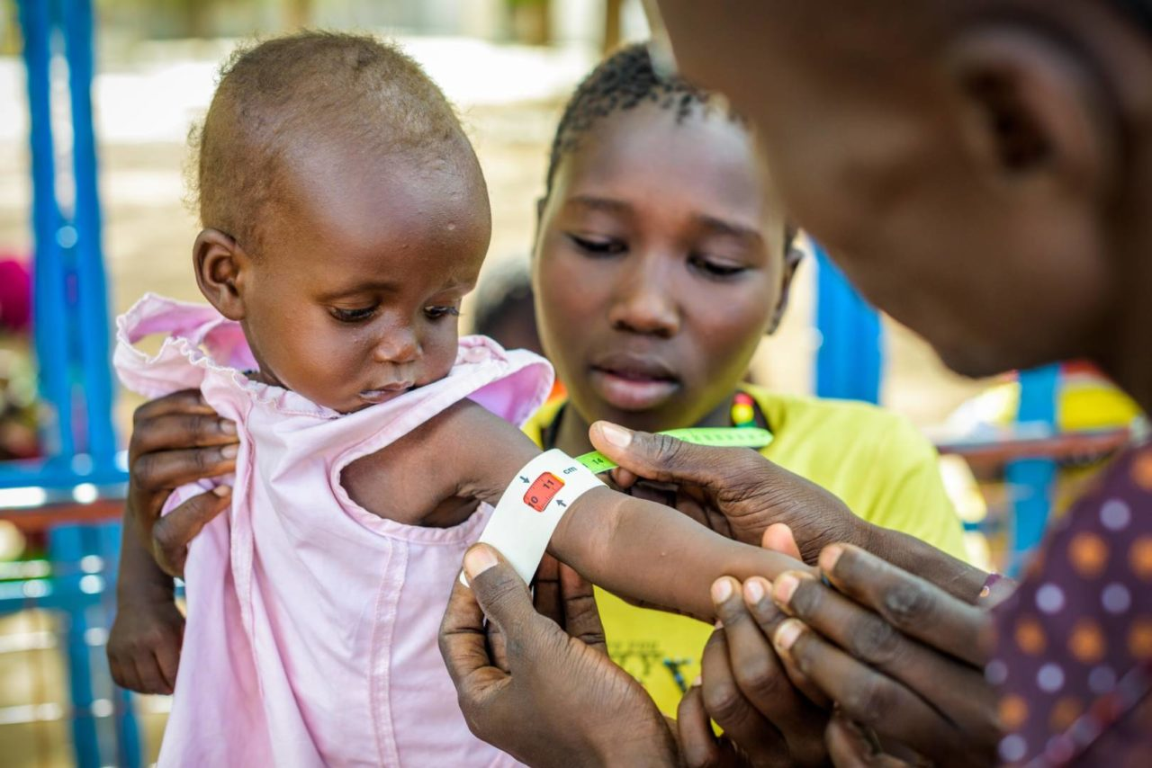 You've seen the photos — children getting their arms measured with the mid-upper arm circumference (MUAC) strips to gauge their level of malnutrition.