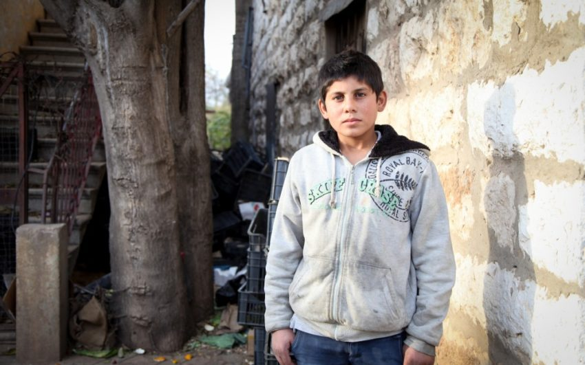 Syrians desperately hope for peace, and children shouldn't grow up in a war zone. Pray for Syria, whose people are enduring their seventh year of civil war.