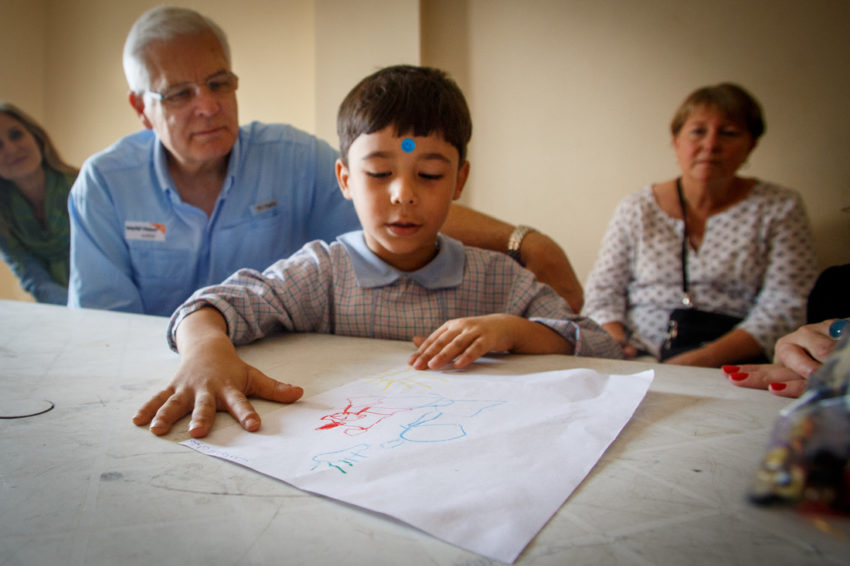 """World Vision U.S. President Rich Stearns reflects on how God calls us to look at """"somebody else's children"""" in the way he sees them and love them as he does."""