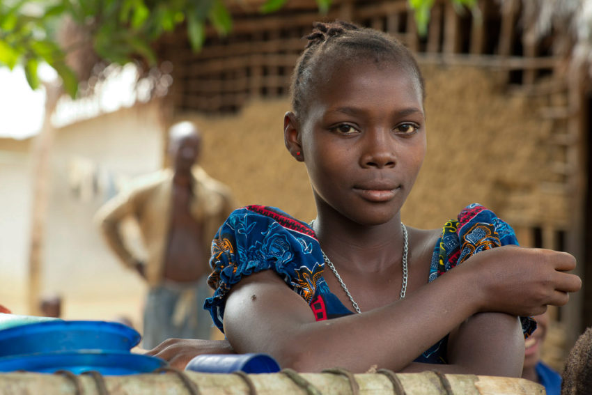 Millions of girls, like Jenneh in Sierra Leone, face barriers like early marriage to their education. This is Jenneh's story.