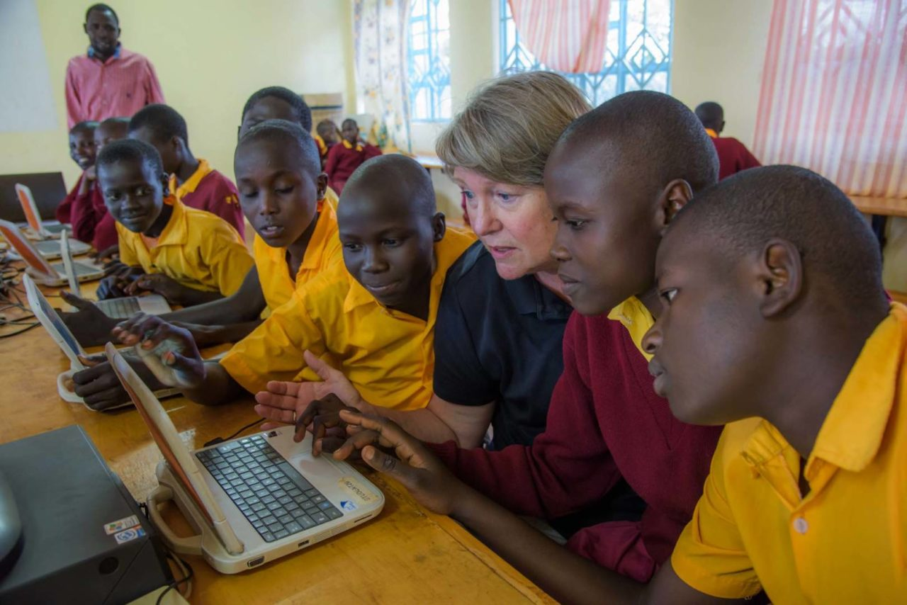 While kids in the U.S. are going back to school, Reneé Stearns reflects on how a special school in Kenya is making a world of good for girls.
