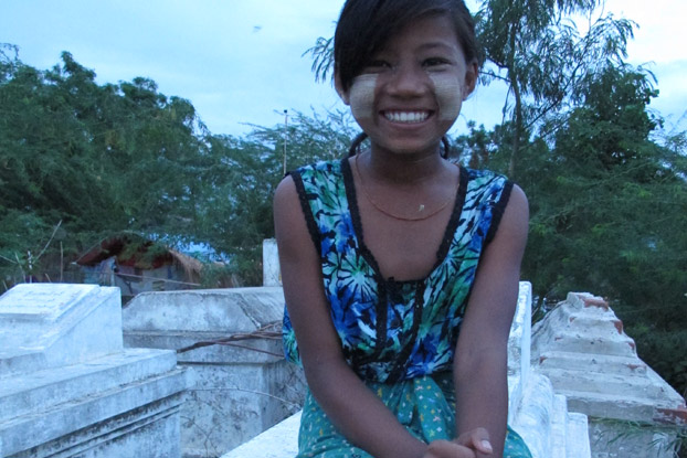 13-year-old Nyein Mar's family lives in a cemetery in Myanmar with no hope for their children's future. See how her education is giving her hope!
