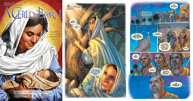 Why write a comic book about Jesus instead of a superhero? Writer/illustrator Billy Tucci explains: Jesus is the greatest superhero ever to walk the earth!