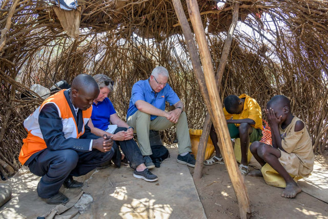World Vision U.S. President Rich Stearns reflects on how when our hearts are broken by the world's suffering, we remain tender to see as Jesus sees.