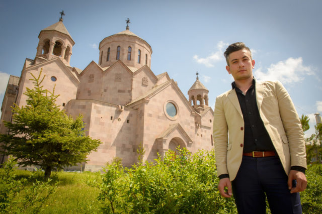 A former sponsored child in Armenia has devoted his life to encourage and equip Armenia's vulnerable young people with faith and vision for a new future.