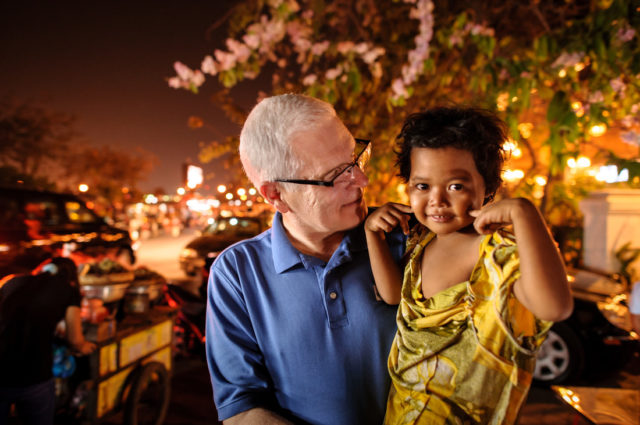 World Vision U.S. President Rich Stearns reflects on the simple, yet breathtaking, symbolism of the Christmas Eve candlelight service at his church.