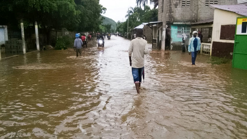 Hurricane Maria caused flooding in parts of Haiti. (©2017 World Vision)