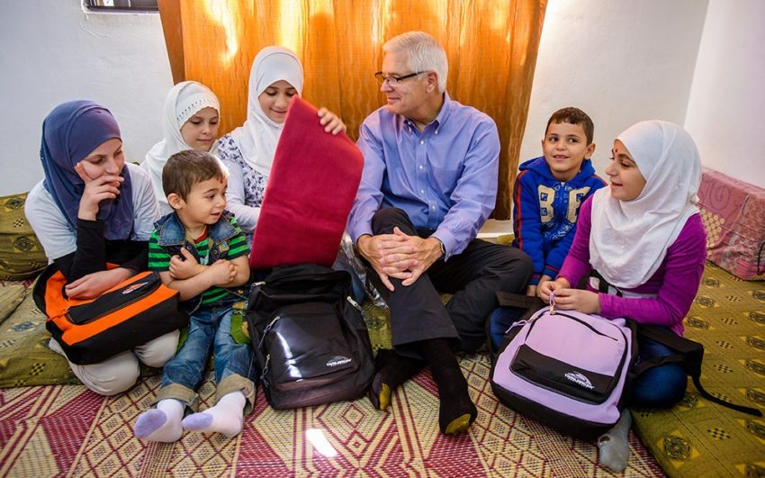 Haya's song: Rich Stearns, World Vision U.S. president, thinks of his own children when he meets Haya, a 10-year-old Syrian refugee in Jordan and listens to her story of bravery and loss.