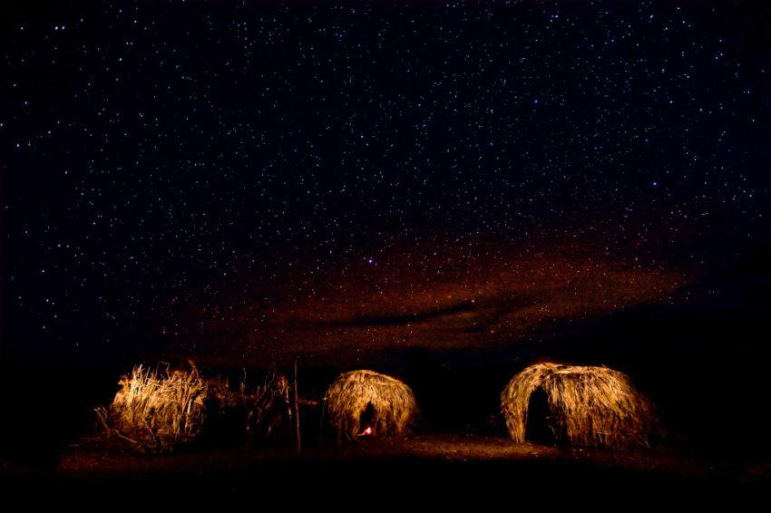 Night sky in Turkana Kenya