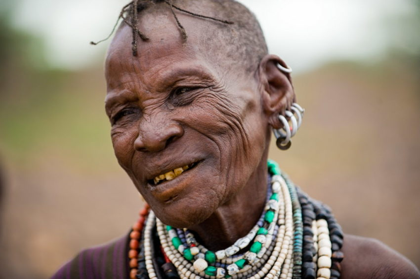The matriarch of a Kenyan family as they battle hunger every day.