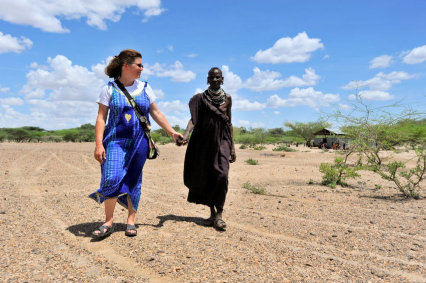 Kari Costanza spent five days with a Kenyan family as they battled hunger, and learned what hunger can do to a person's stomach and soul.