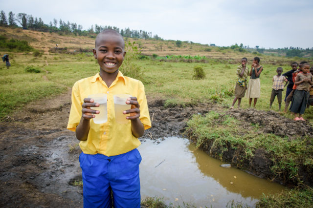 World Vision is the largest nongovernmental provider of clean water in the developing world.
