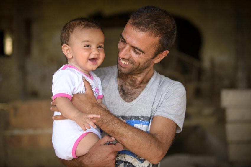 Life frames: Amid harsh circumstances, a moment of joy   World Vision