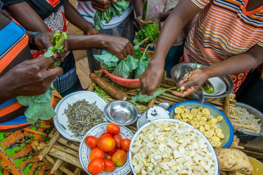 World Vision helps mothers around the world create mouth-watering nutritious meals for their families.