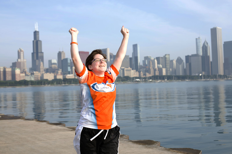 Elisabeth Morton overcame being on a feeding tube to run the World Vision 6K for Water.