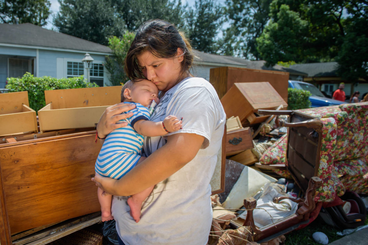 Lilly Rosales wants her 4-month-old son Alex Xavier to grow up in the same house where she grew up and continues to live. But for that to happen, Lilly, her husband, Jose Linares, and the rest of the family will have to rebuild after the damage caused when Hurricane Harvey flooded their home.