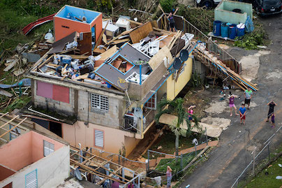 Hurricane Maria caused widespread destruction in Puerto Rico. (©2017 Getty Images)