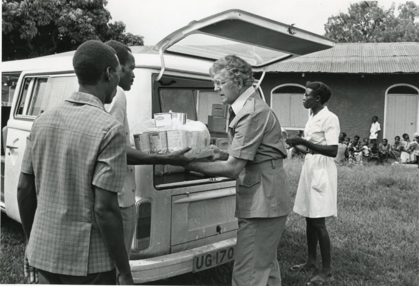 Uganda genocide: In an article from July 1979, former World Vision U.S. President Stan Mooneyham writes about his visit to Uganda after the genocide perpetrated by dictator Idi Amin.