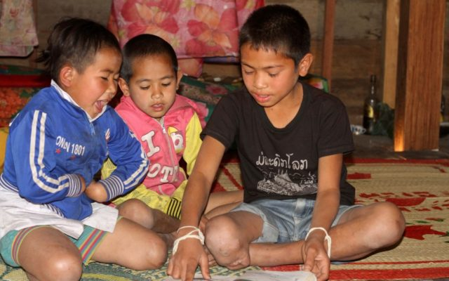 Pray Psalms 22:11 for children hurt by unexploded ordnance (UXO) left over from the Vietnam War.