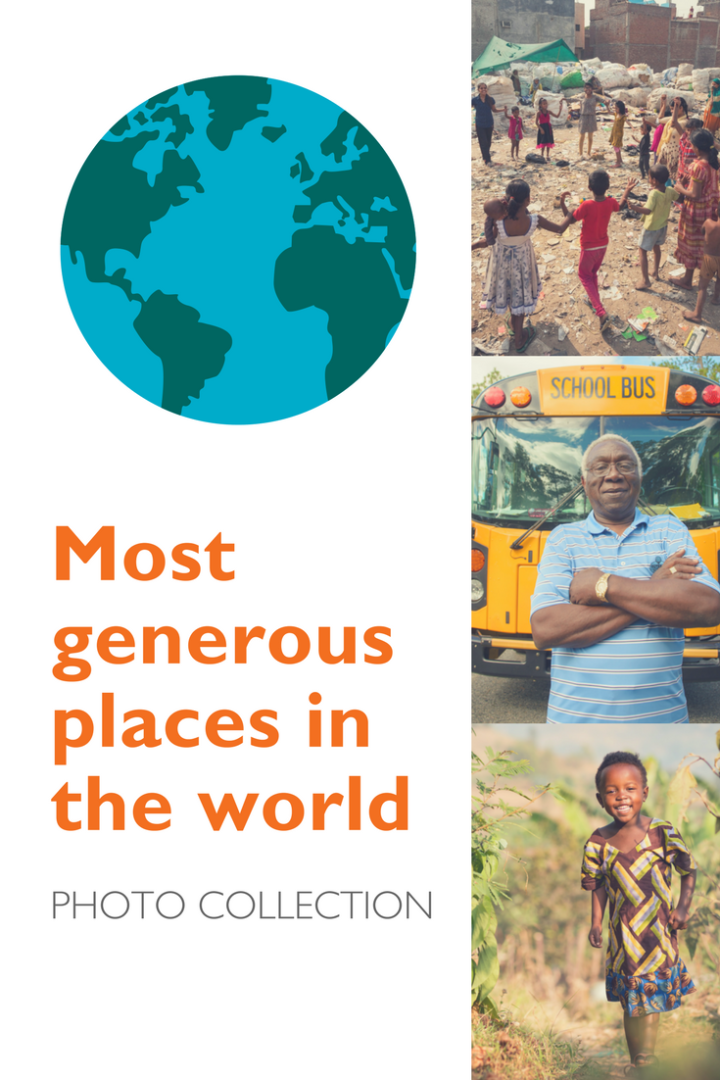 The most generous places in the world - photo collection