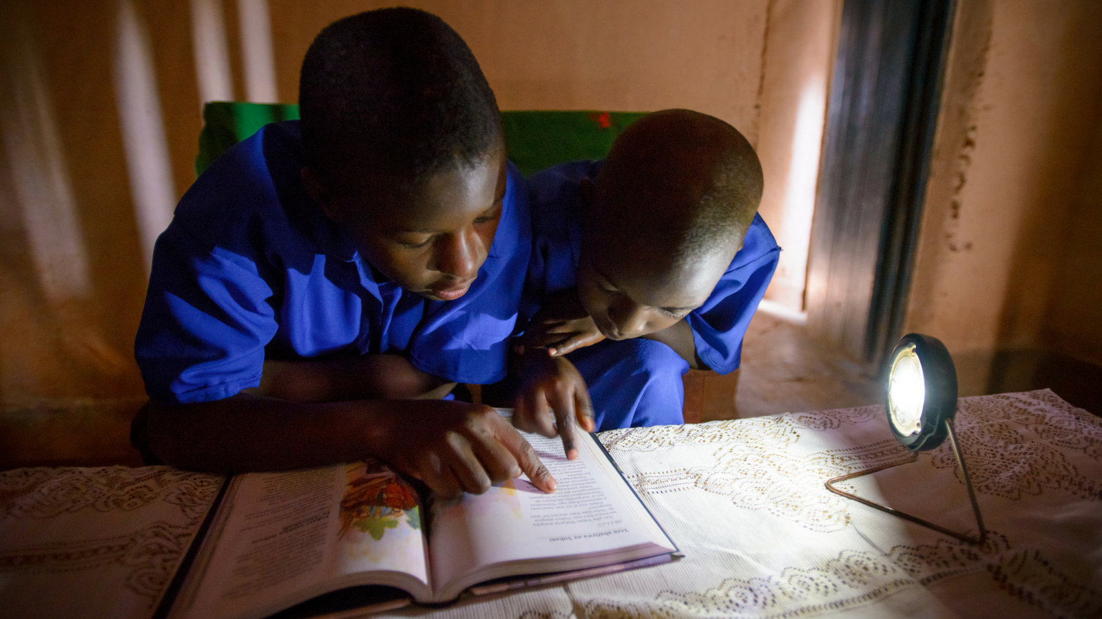 Out Of The Dark Solar Lamps Shine Brightly For Reading