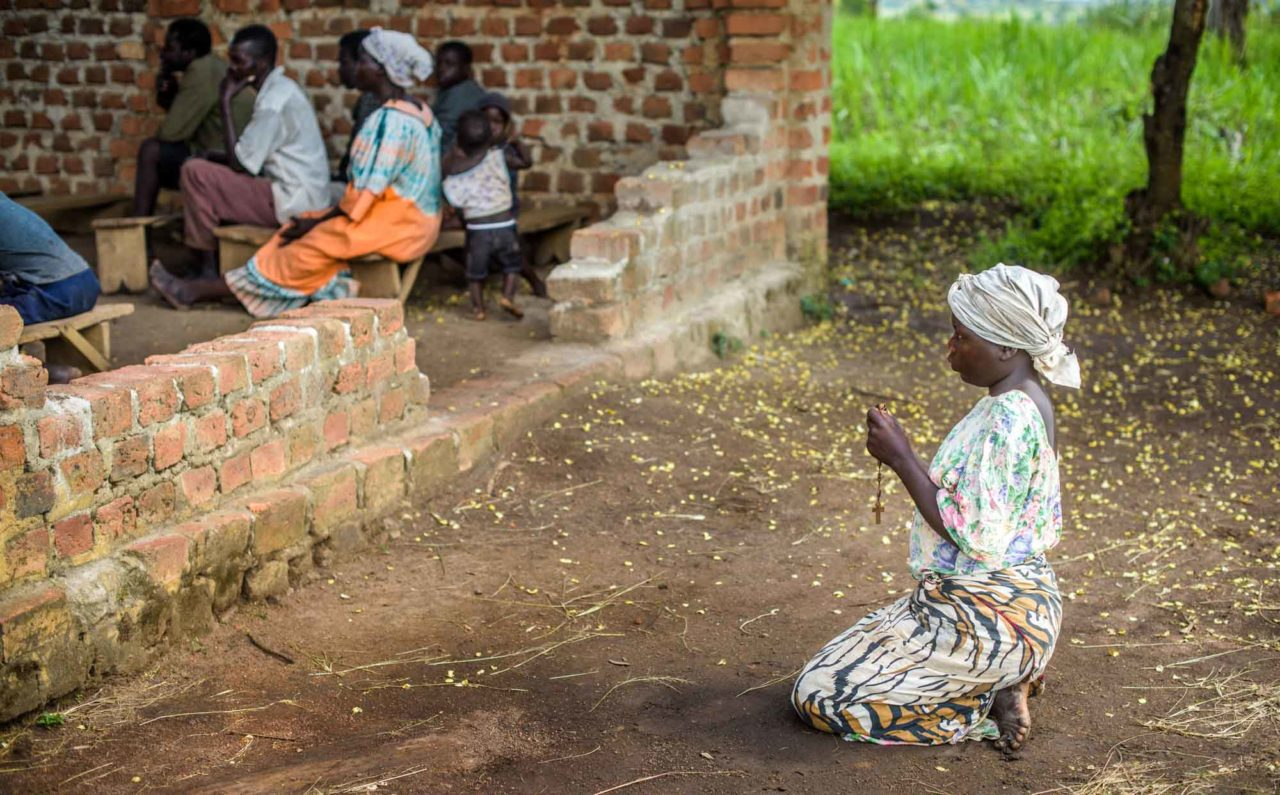 Due to fistula — an injury during childbirth that causes incontinence — Jennifer remained outside when she attended church, kneeling in the dirt to pray. Without improving health for women who don't have proper care, issues like fistula can ruin their lives.