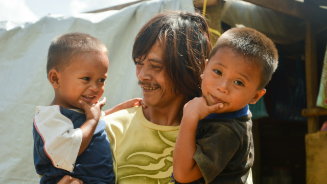After Typhoon Haiyan devastated the Philippines in 2014, World Vision staff member Maryann Zamora witnessed an answered prayer for Patrick, a young father of two.