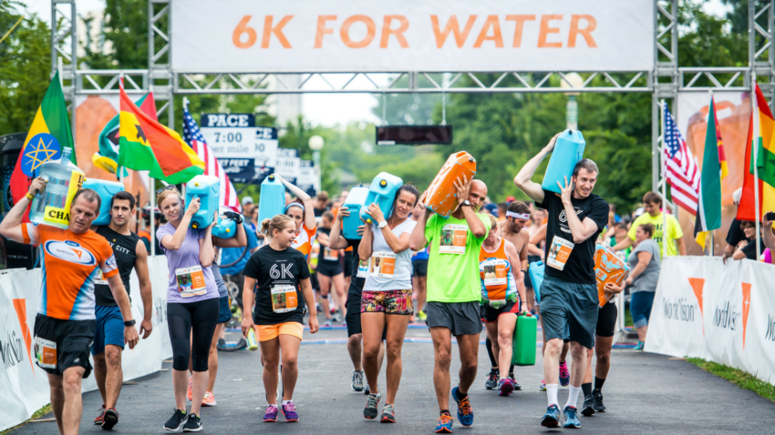 When you walk or run the Global 6K for Water, you provide life-changing clean water to one person! You can create even more impact by becoming a host site and gathering friends and family to walk and run with you. Check out what people like you have to say about how easy and impactful it is to host the Global 6K for Water.